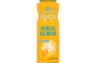 Otul włosy mgłą piękna. Innowacyjna mgiełka olejkowa Garnier Fructis.