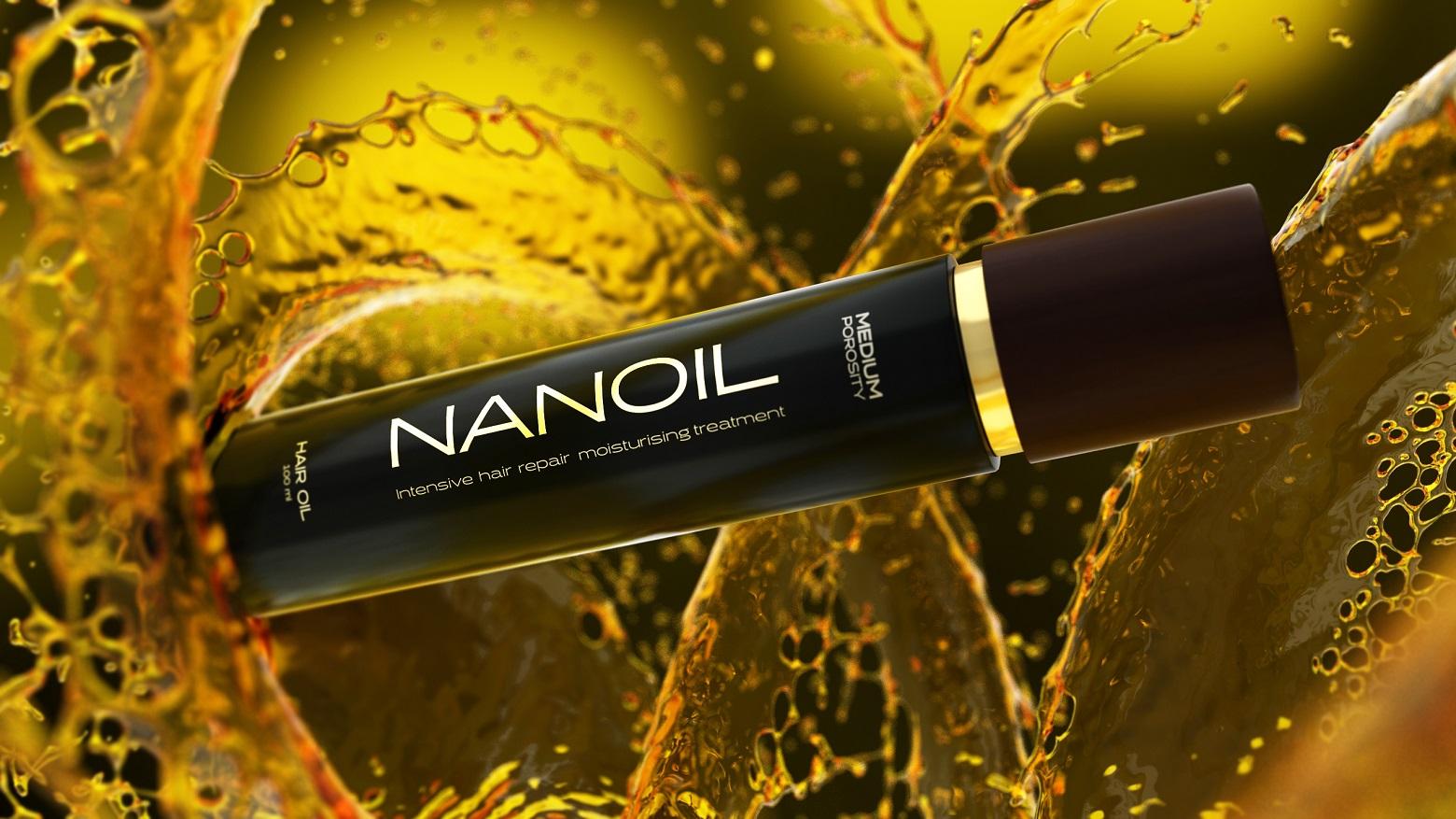 Dwa kroki do pięknych włosów. Poznaj siłę natury z Nanoil!