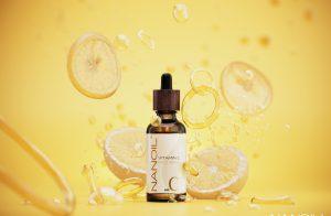 Nanoil dobre serum do twarzy z witaminą c
